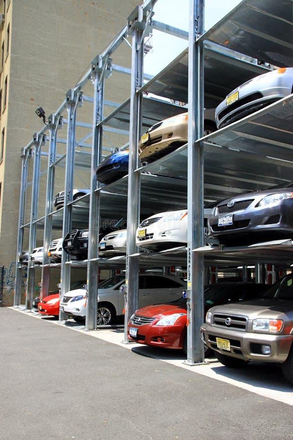 级别多停车系统 免版税库存照片