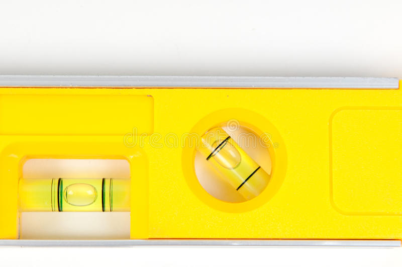 级别精神黄色 免版税库存图片