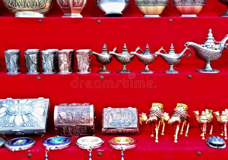 纪念品在埃及 库存图片