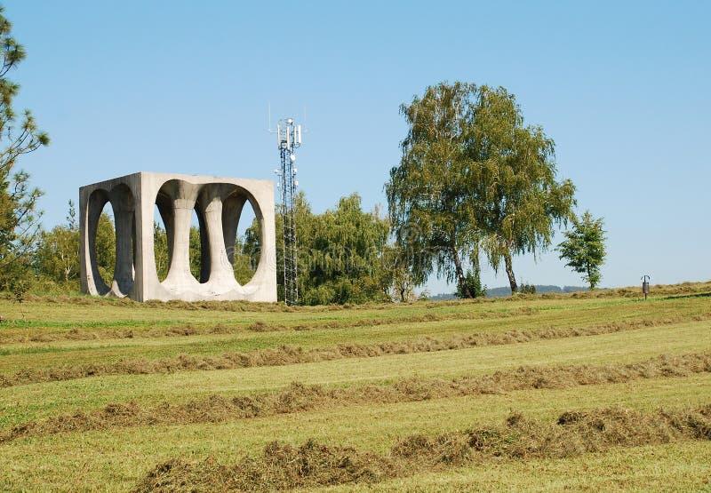 纪念品在Ilirska Bistrica 免版税库存图片