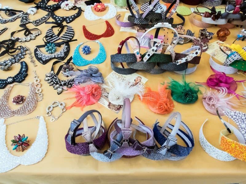 纪念品店和jewelery在罗马 免版税库存照片