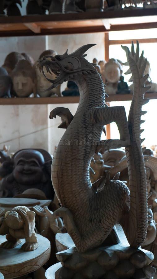 纪念品店在巴厘岛 免版税库存照片
