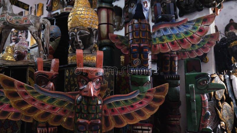 纪念品店在巴厘岛 免版税库存图片