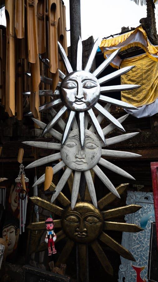 纪念品店在巴厘岛 免版税图库摄影