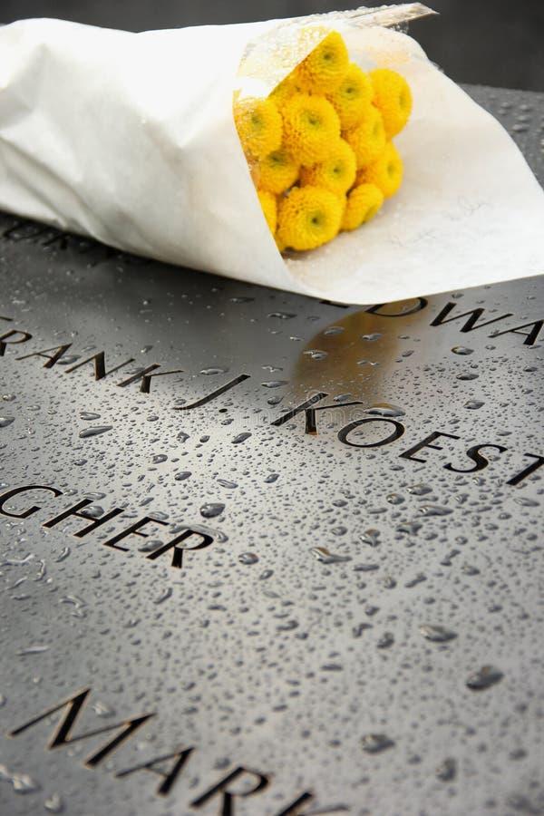 9/11纪念品 免版税图库摄影