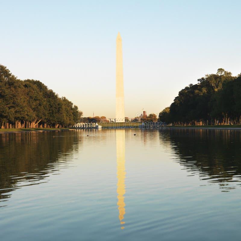 纪念碑华盛顿 免版税库存图片