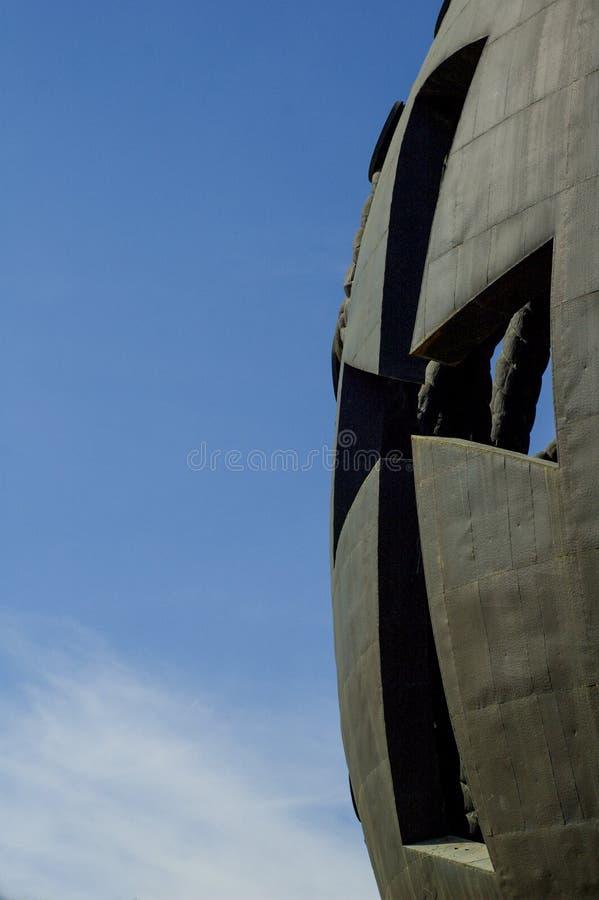 纪念碑向哥伦布 jeronimo圣 塞维利亚 安达卢西亚 西班牙 免版税库存图片