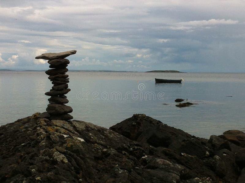 纪念碑向大西洋 图库摄影