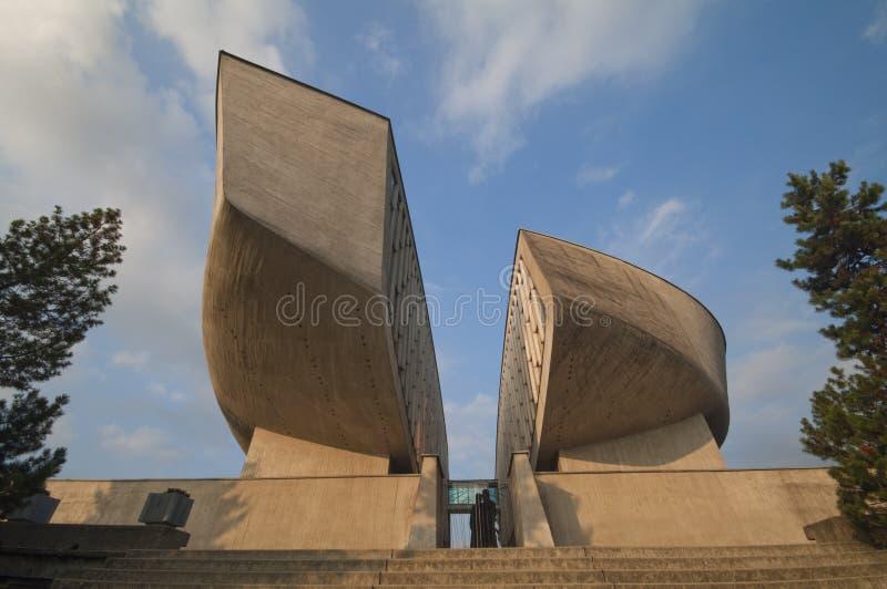 纪念碑国家斯洛伐克起义 免版税库存照片