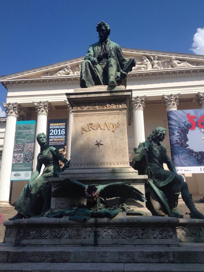 纪念碑在布达佩斯 库存图片