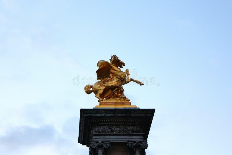 纪念碑在巴黎 免版税图库摄影