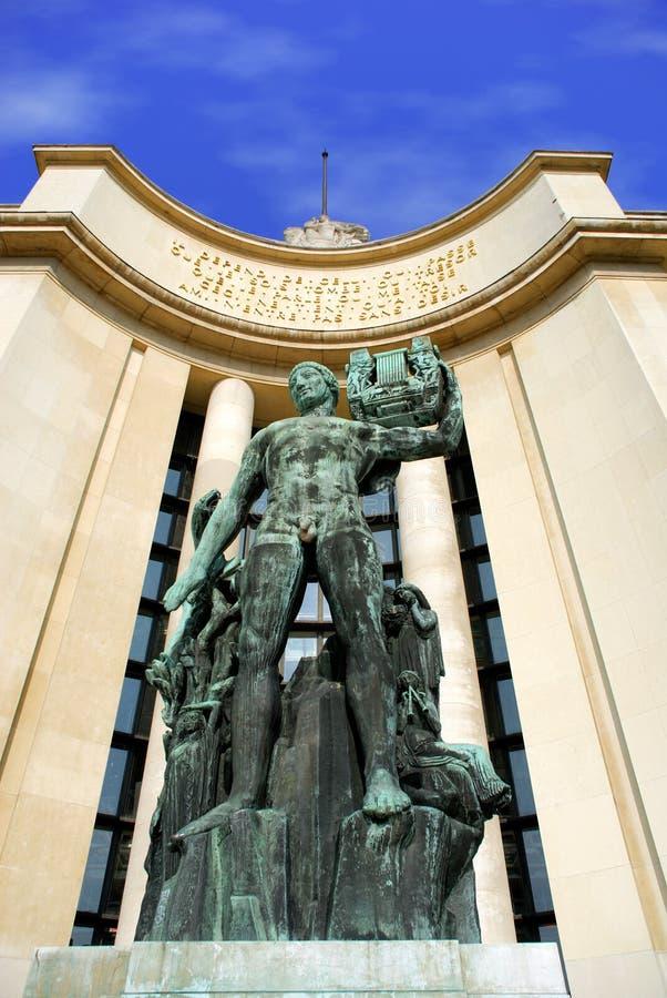 纪念碑巴黎 免版税库存图片