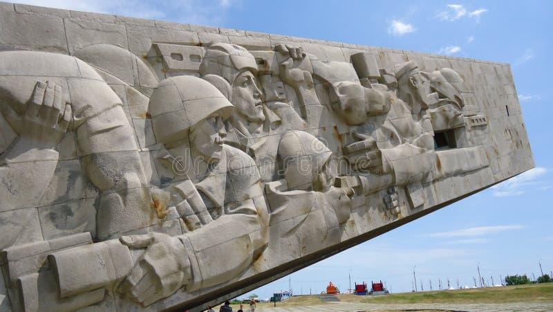 纪念碑战士 免版税库存图片