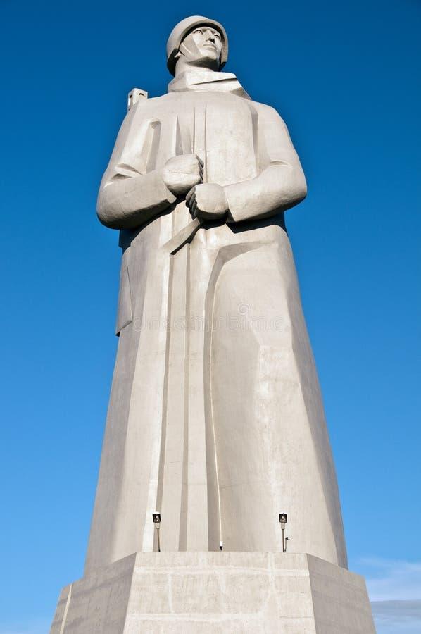 纪念碑摩尔曼斯克 库存照片