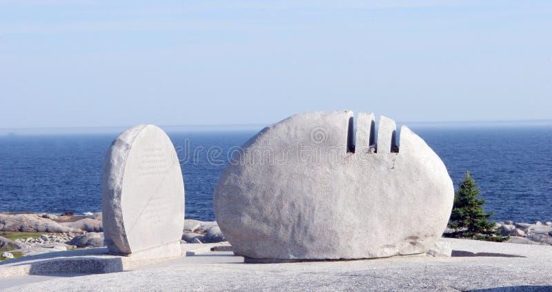 纪念碑石头 库存图片
