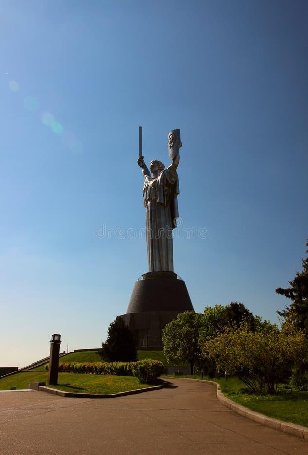 纪念碑祖国电话 免版税库存照片