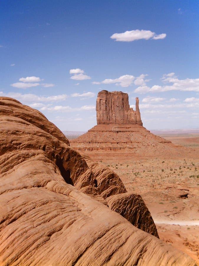 纪念碑美国谷 免版税库存图片