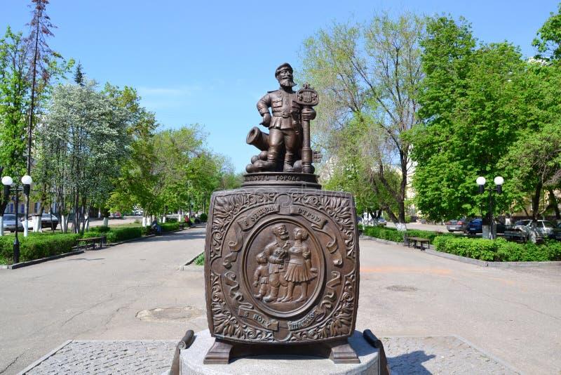 纪念碑谚语 免版税库存照片