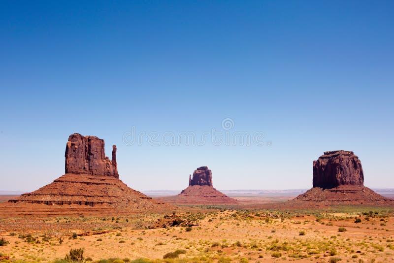 纪念碑谷那瓦伙族人部族公园犹他 免版税库存图片