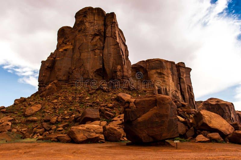 纪念碑谷那瓦伙族人部族公园,犹他,美国 库存图片
