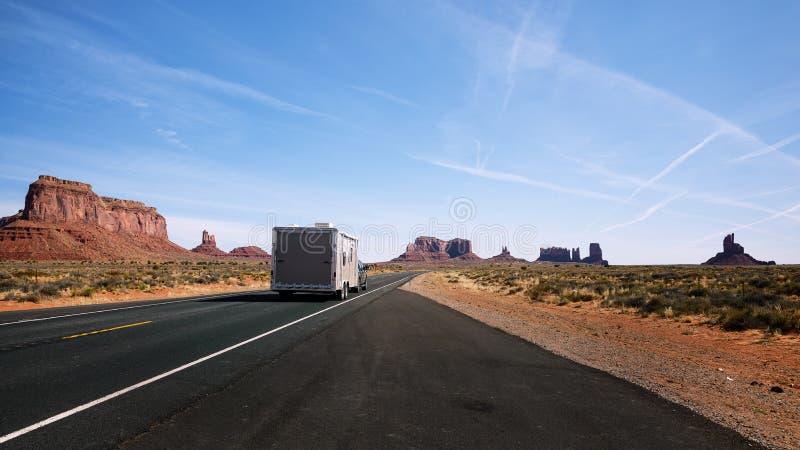 纪念碑谷,部族公园,亚利桑那,犹他,美国 免版税库存照片
