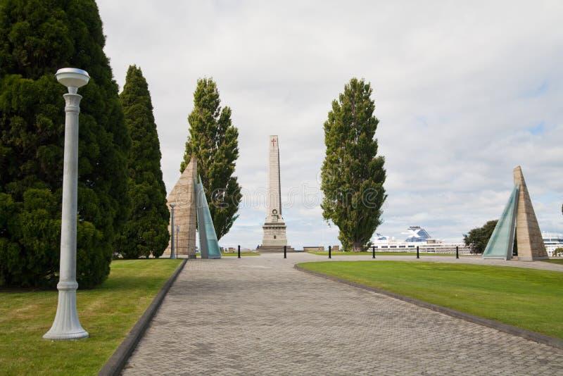 纪念碑霍巴特 免版税库存照片