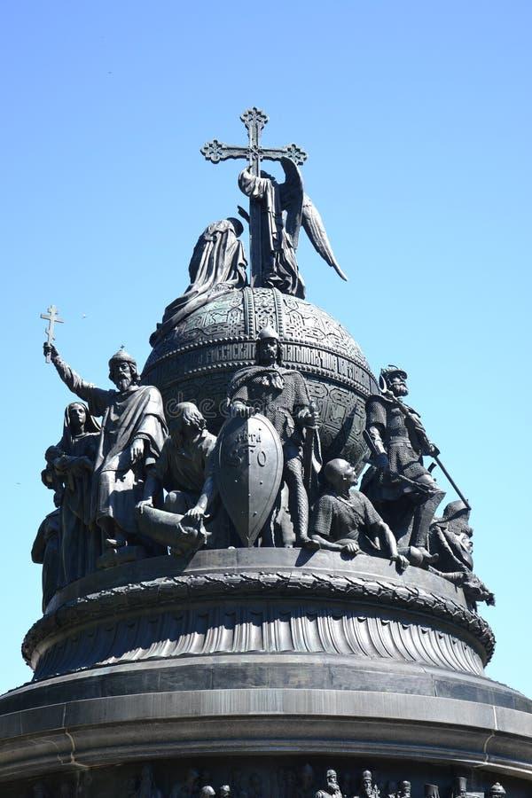 纪念碑,俄罗斯,鲁斯,古老拉斯洗礼. 创建, 历史记录.图片