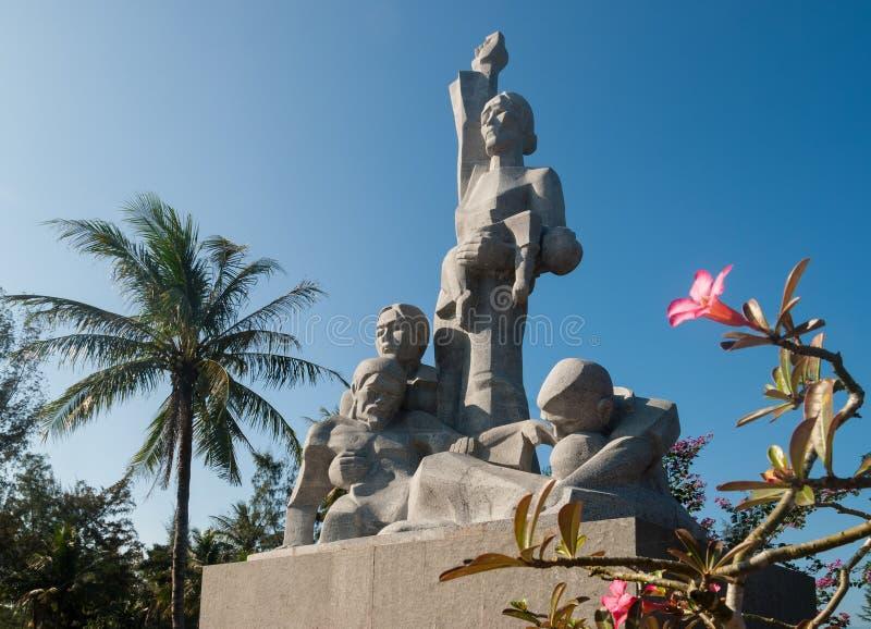 纪念站点在越南 免版税库存照片