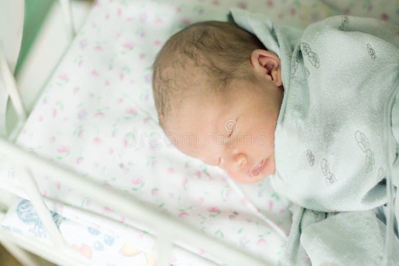 年纪的婴孩五天 库存图片