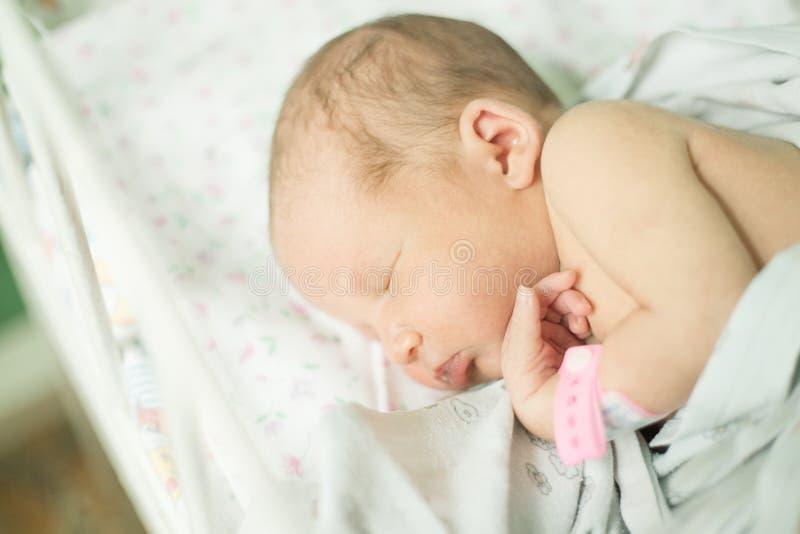 年纪的婴孩五天 库存照片