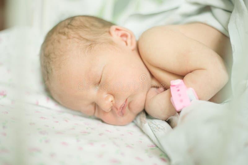 年纪的婴孩五天 免版税库存图片