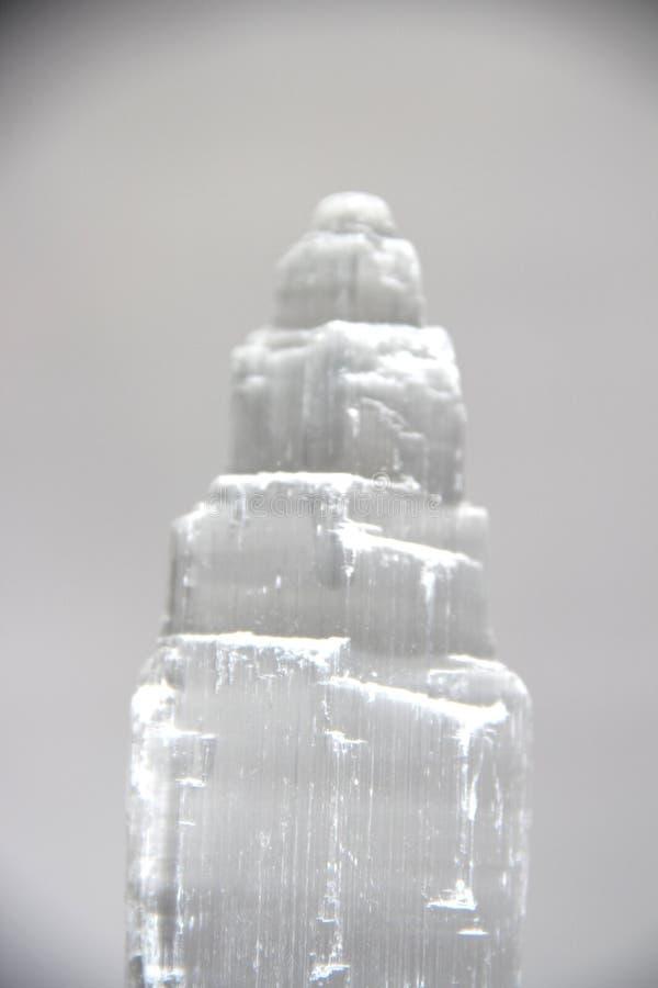 纯净的水晶白色 图库摄影