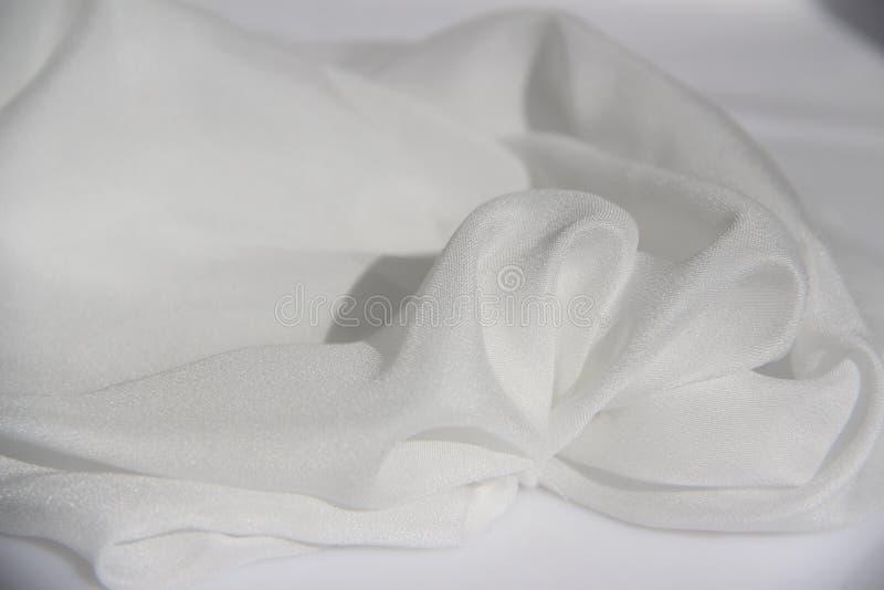 纯净的白色柔光 库存图片