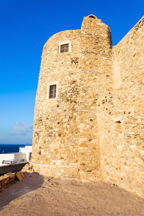 纳克索斯老镇,希腊 免版税库存照片