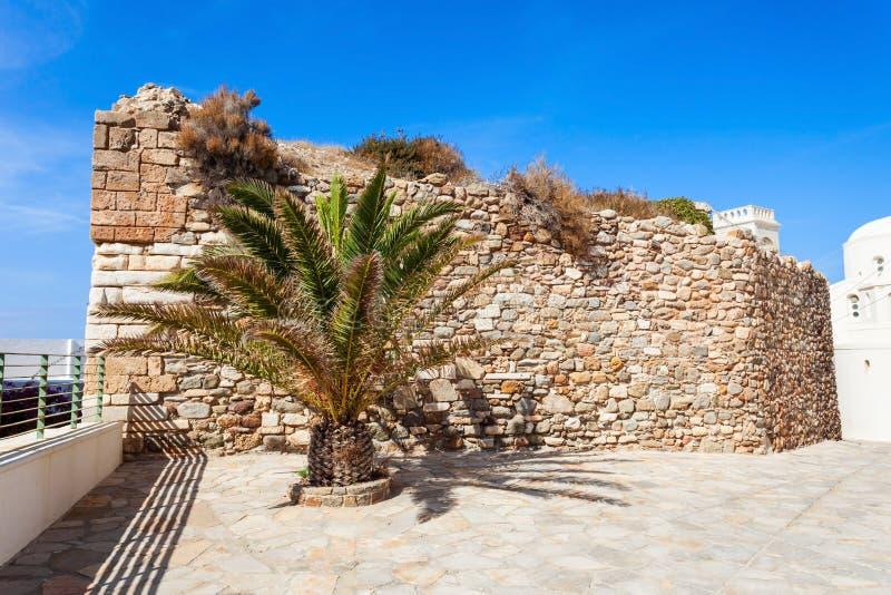 纳克索斯老镇,希腊 免版税图库摄影