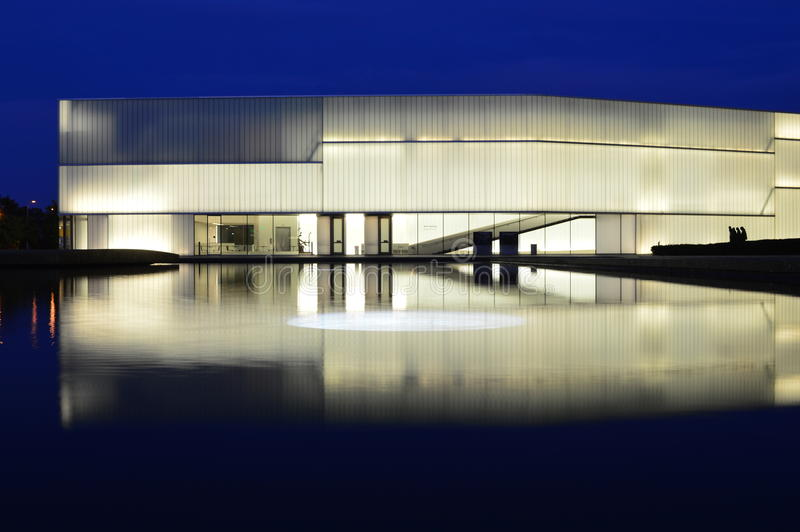 纳尔逊阿特金斯美术馆修造堪萨斯的布洛克 库存图片