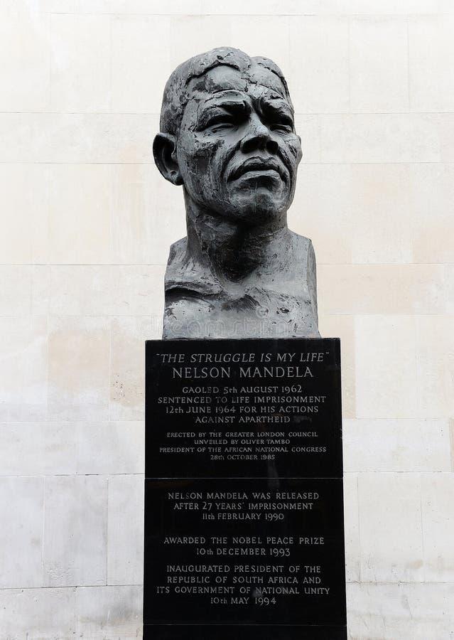 纳尔逊・曼德拉 免版税库存图片
