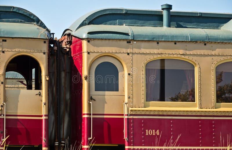 纳帕谷酒火车 图库摄影