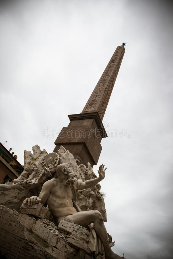 纳沃纳广场 免版税库存照片
