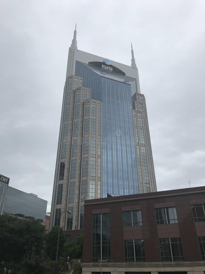 纳稀威田纳西AT&T大厦 库存图片