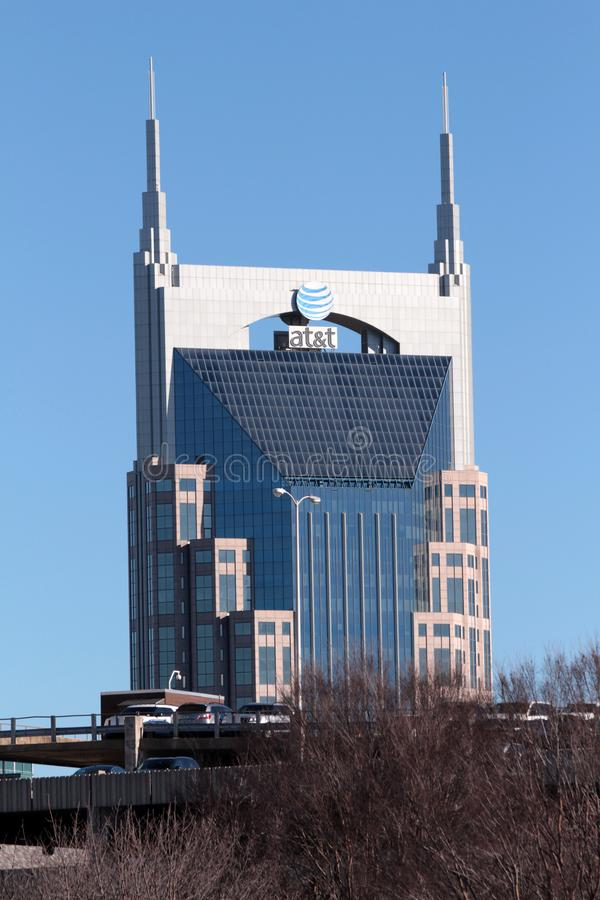 纳稀威,田纳西的首都 库存照片