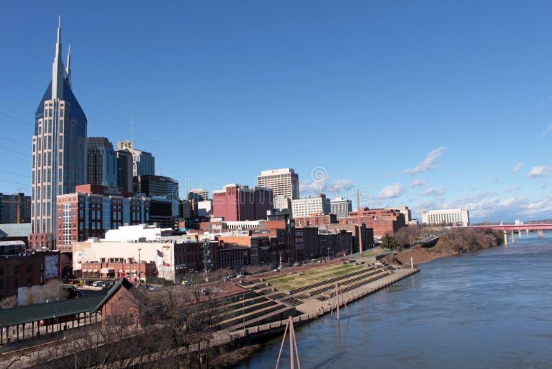 纳稀威,田纳西的首都 免版税库存照片