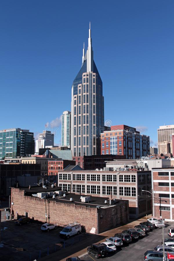 纳稀威,田纳西的首都 免版税图库摄影