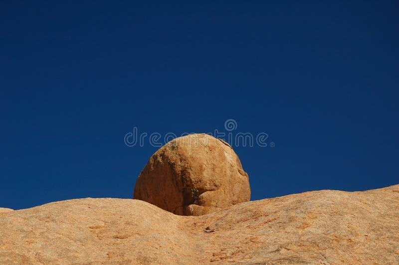 纳米比亚岩石spitzkoppe 免版税库存照片