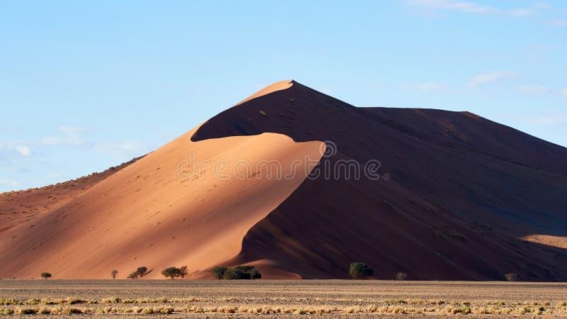 纳米比亚沙漠沙丘 库存图片