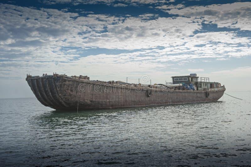 纳米比亚的海岸的海难 免版税库存照片