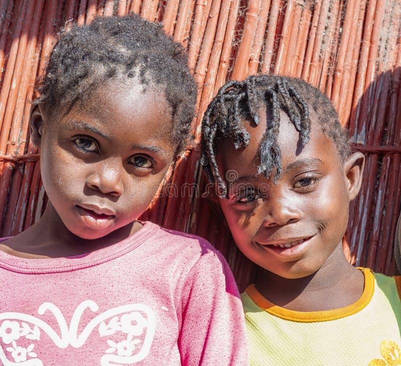 纳米比亚,非洲 伦杜、卡万戈 免版税库存照片