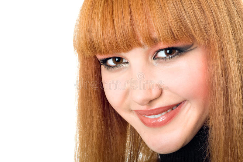 Download 纵向俏丽的妇女 库存照片. 图片 包括有 查出, 幸福, 可爱, 嘴唇, 快乐, 眼睛, 白种人, 表面 - 15689096