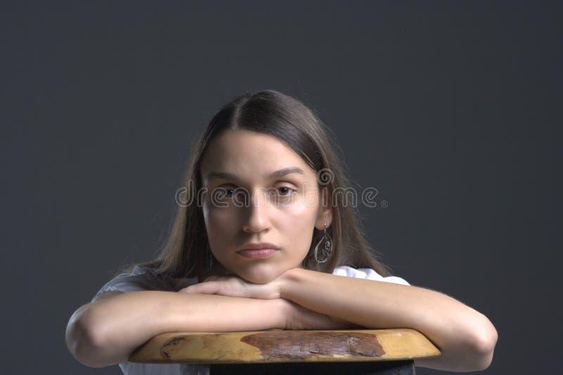 纵向妇女年轻人 库存图片