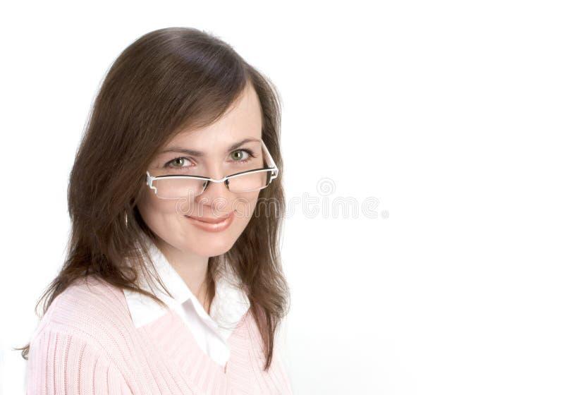 纵向妇女年轻人 库存照片